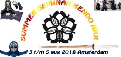 Summerseminar Kendo 2018 Amsterdam